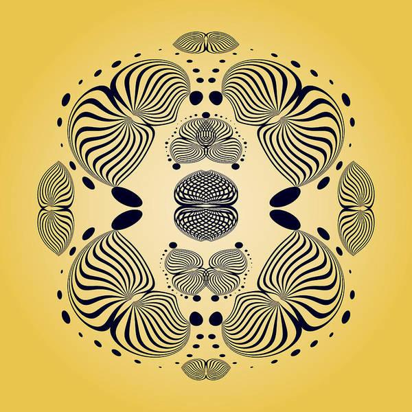 Digital Art - Circularity No 1639 by Alan Bennington