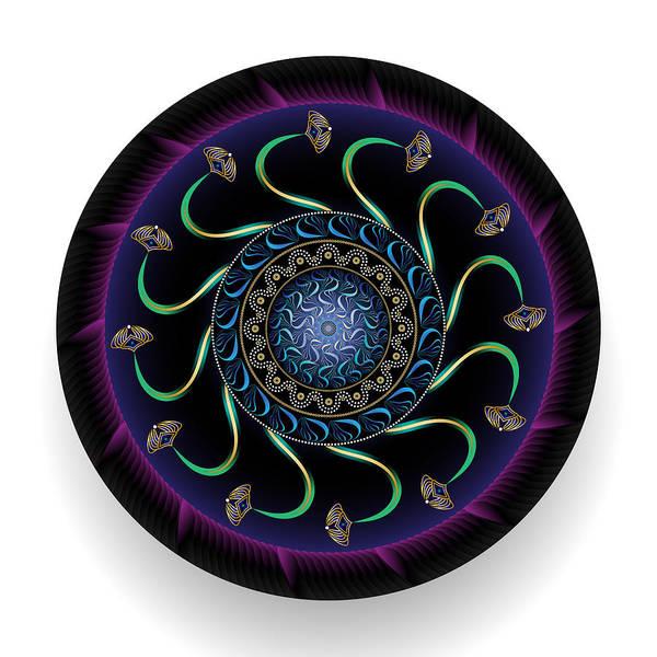 Digital Art - Circularium No 2688 by Alan Bennington