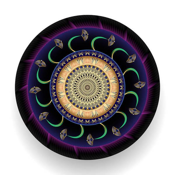 Digital Art - Circularium No 2689 by Alan Bennington