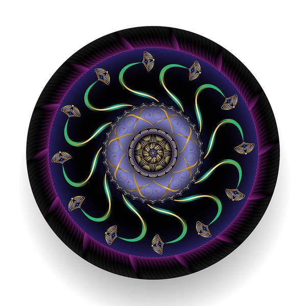 Digital Art - Circularium No 2692 by Alan Bennington