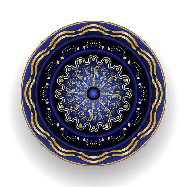 Digital Art - Circularium No 2696 by Alan Bennington