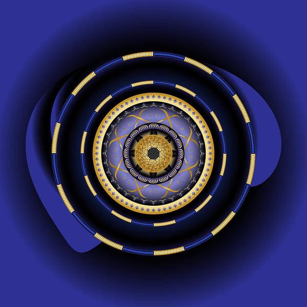 Digital Art - Circularium No 2698 by Alan Bennington