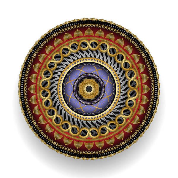 Digital Art - Circularium No 2700 by Alan Bennington