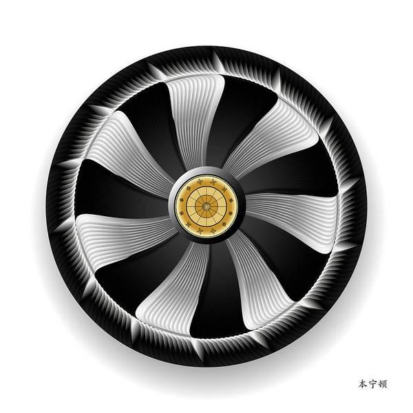 Digital Art - Circularium No 2703 by Alan Bennington