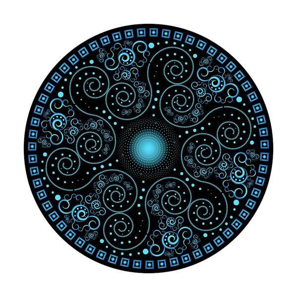 Digital Art - Circularium No 2705 by Alan Bennington