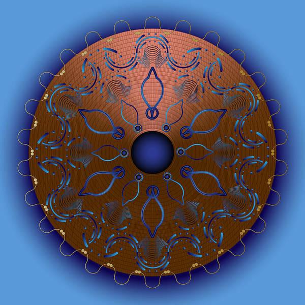 Digital Art - Circularium No 2706 by Alan Bennington