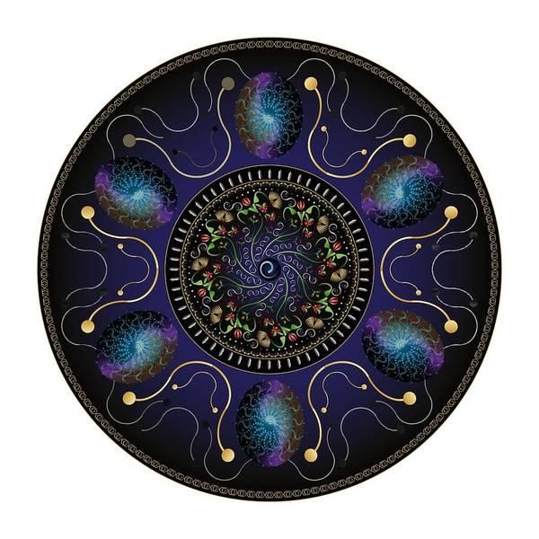 Digital Art - Circularium No 2707 by Alan Bennington