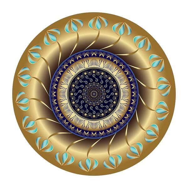 Digital Art - Circularium No 2708 by Alan Bennington