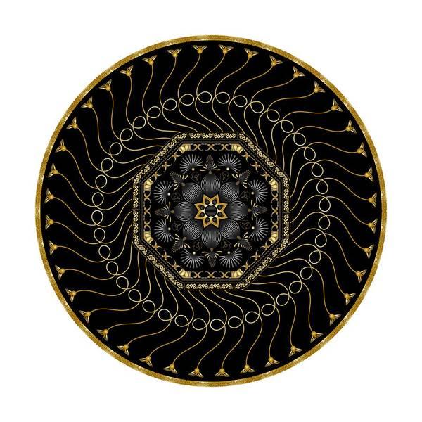 Digital Art - Circularium No 2713 by Alan Bennington