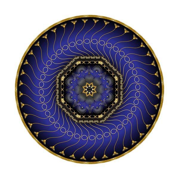 Digital Art - Circularium No 2714 by Alan Bennington
