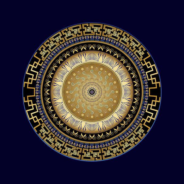 Digital Art - Circularium No. 2721 by Alan Bennington