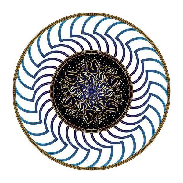 Digital Art - Circularium No. 2722 by Alan Bennington
