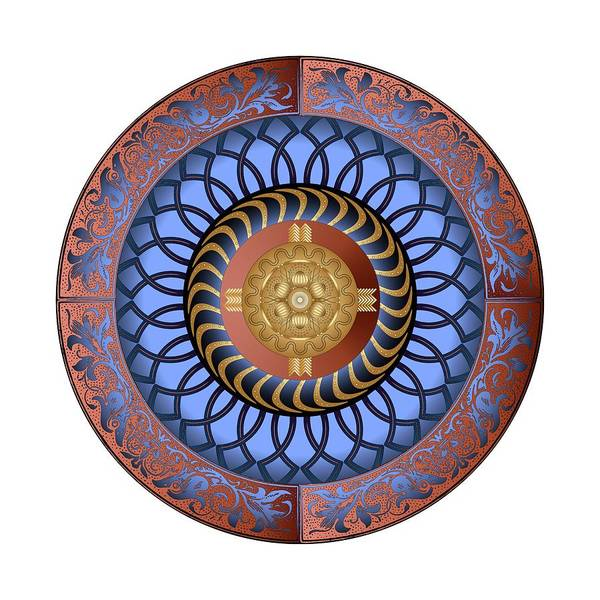 Digital Art - Circularium No. 2731 by Alan Bennington