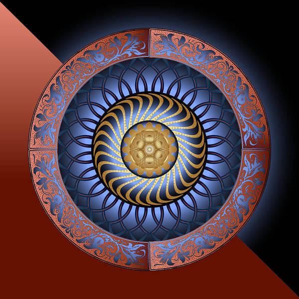 Digital Art - Circularium No. 2732 by Alan Bennington