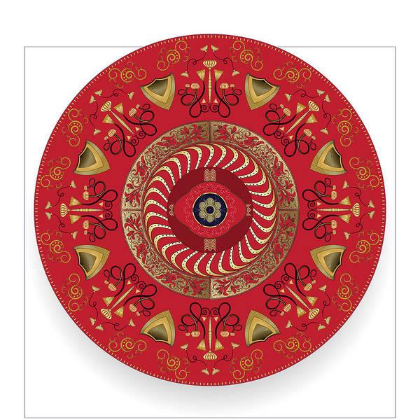 Digital Art - Circularium No. 2741 by Alan Bennington