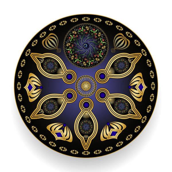 Digital Art - Circularium No 2742 by Alan Bennington