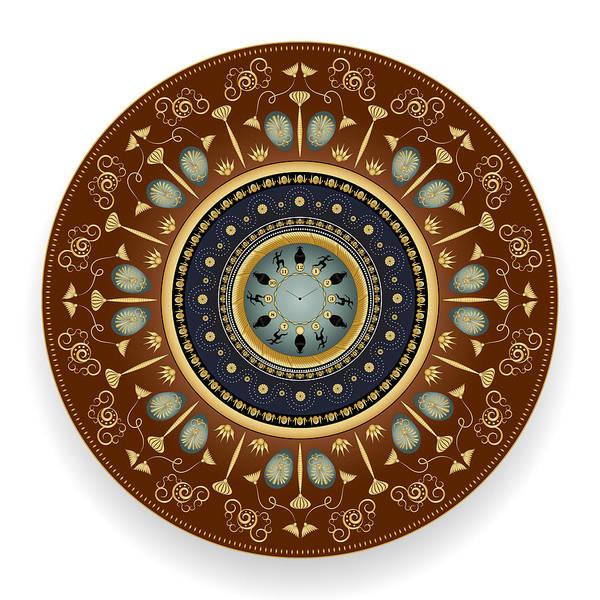 Digital Art - Circularium No 2745 by Alan Bennington