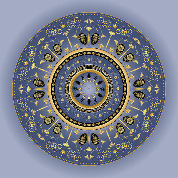 Digital Art - Circularium No 2746 by Alan Bennington