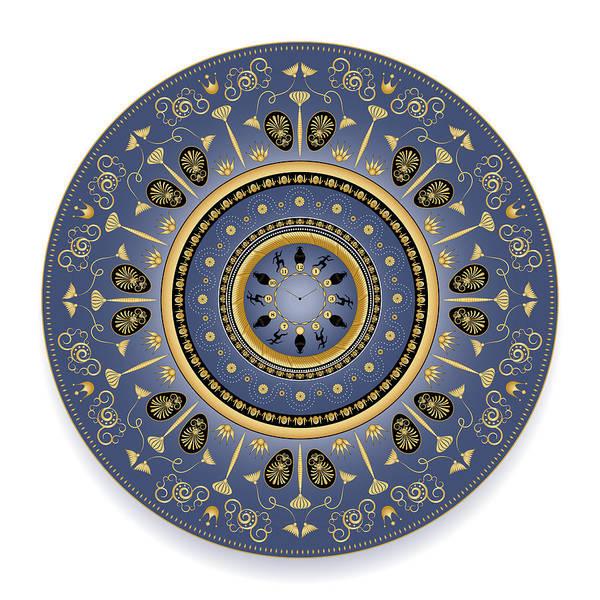 Digital Art - Circularium No 2747 by Alan Bennington