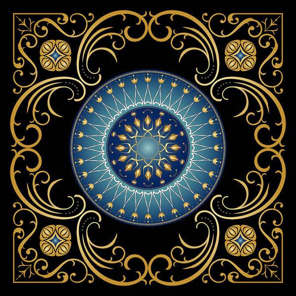 Digital Art - Circularium No 2748 by Alan Bennington
