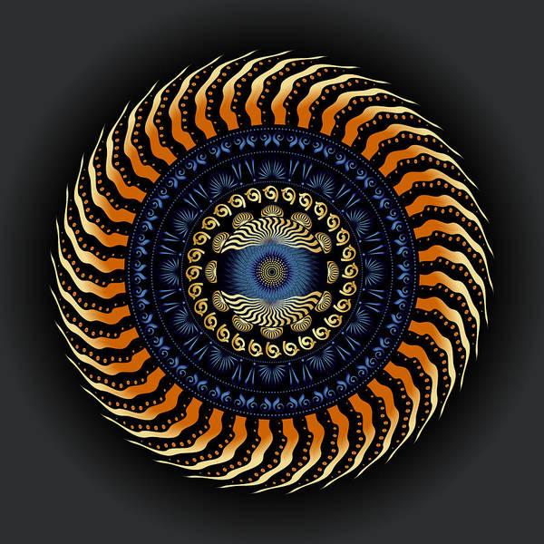 Digital Art - Circularium No 2752 by Alan Bennington
