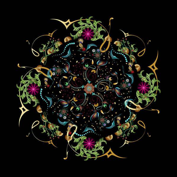 Digital Art - Circulosity No 3388 by Alan Bennington