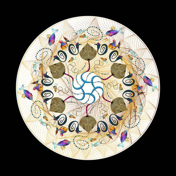 Digital Art - Circulosity No 3417 by Alan Bennington