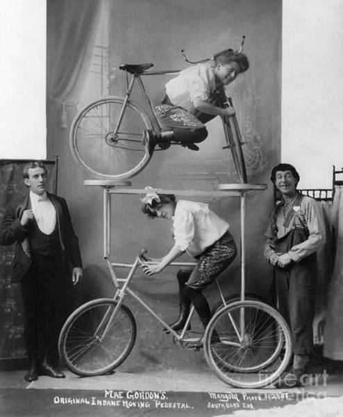 Photograph - Circus Act, C1907.  by Granger