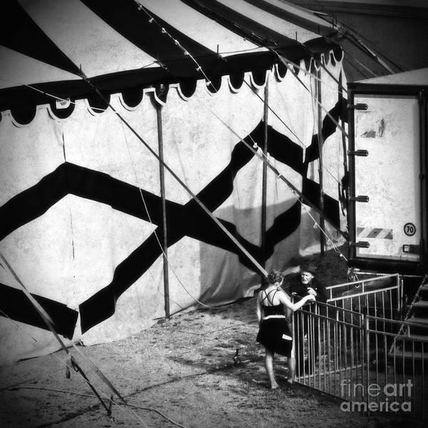 Wall Art - Photograph - Circus Conversation by Silvia Ganora