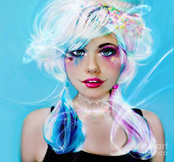 Digital Art - Circus Mind by Jaimy Mokos