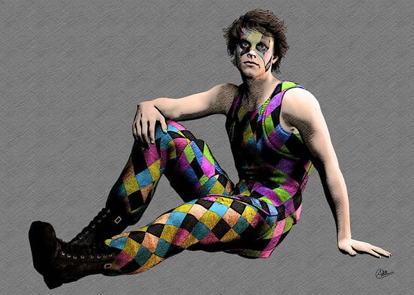 Commedia Dell Digital Art - Cirque Boy by Quim Abella