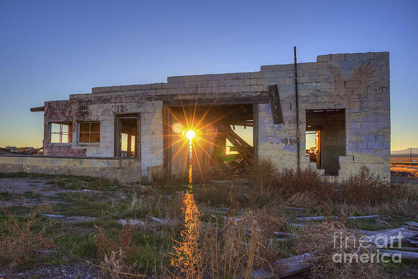 Photograph - Cisco Relic by Spencer Baugh