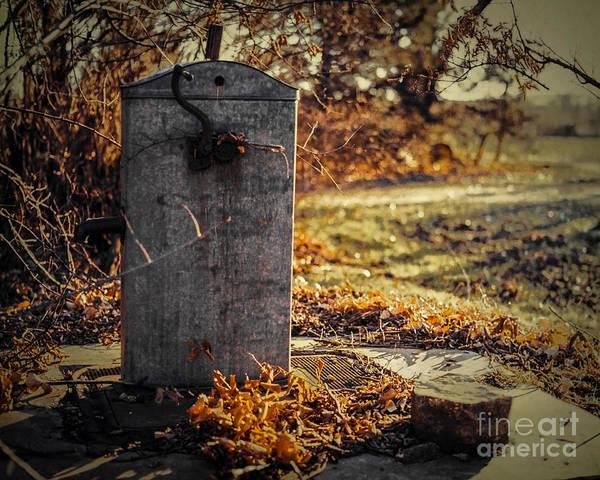Photograph - Cistern by Jon Burch Photography