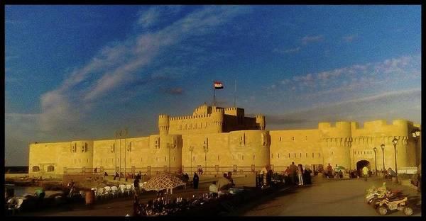 Photograph - Citadel, Alexandria, Egypt by Samuel Pye