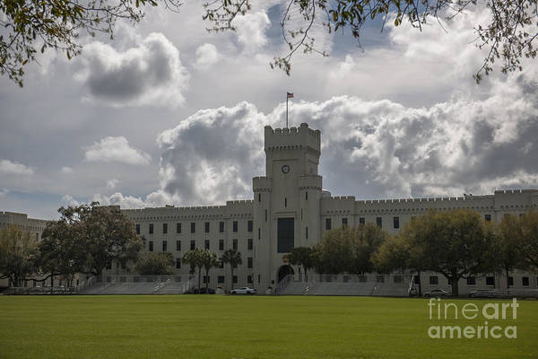 Photograph - Citadel Military College by Dale Powell