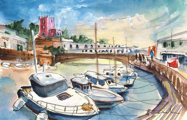 Painting - Citadel Of Minorca 01 by Miki De Goodaboom