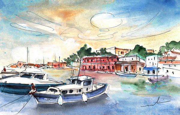 Painting - Citadel Of Minorca 02 by Miki De Goodaboom