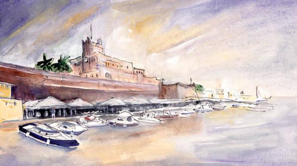 Painting - Citadel Of Minorca 04 by Miki De Goodaboom