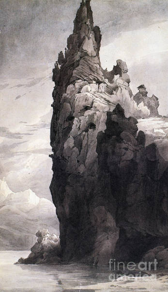 Painting - Citadel Rock by Granger