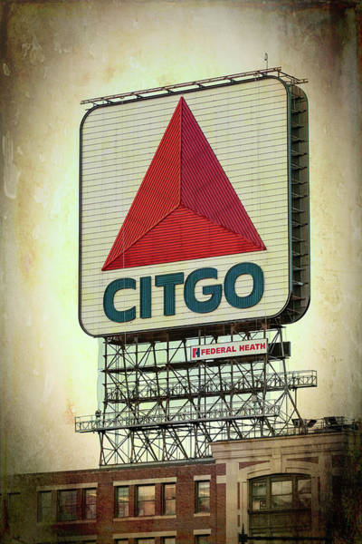 Wall Art - Photograph - Citgo Sox by Stephen Stookey