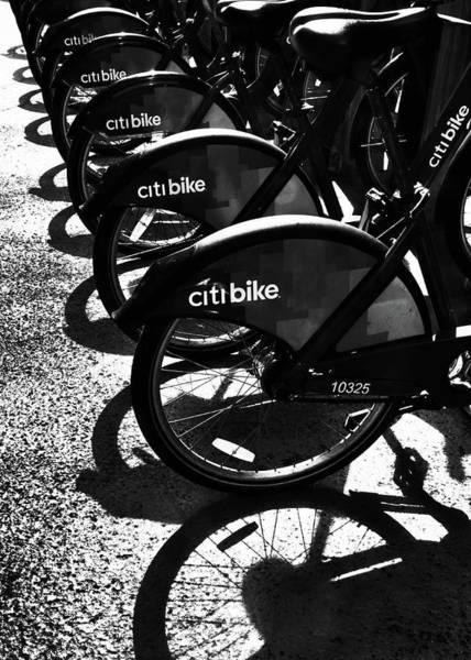 Photograph - Citi Bikes by Jessica Jenney