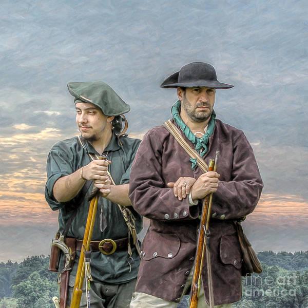 Musket Digital Art - Citizen Soldiers by Randy Steele