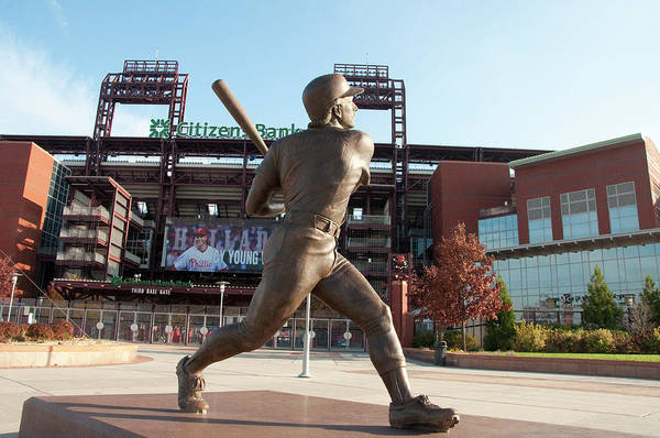 Citizens Bank Park Wall Art - Photograph - Citizens Bank - Mike Schmidt - Phillies by Bill Cannon