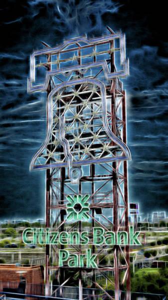 Wall Art - Photograph - Citizens Bank Park Liberty Bell - #2 by Stephen Stookey