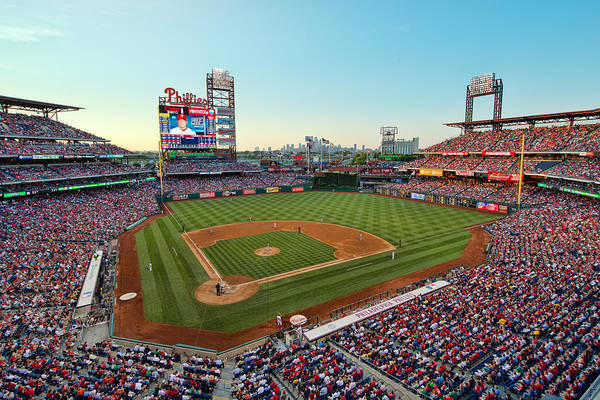 Photograph - Citizens Bank Park - Philadelphia Phillies by Mark Whitt