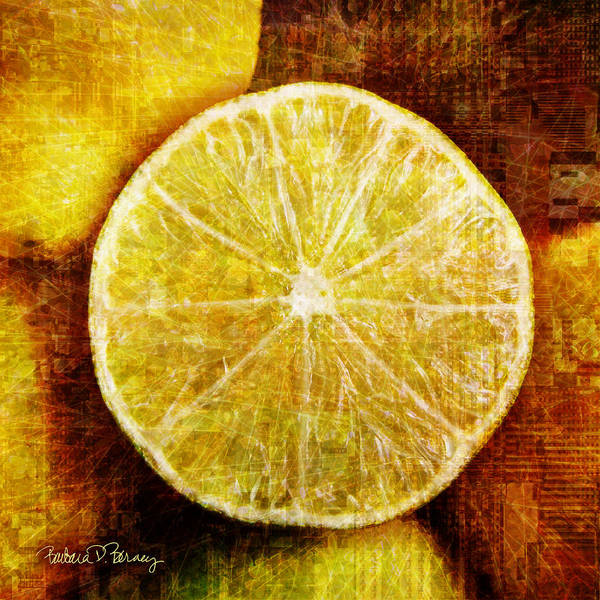 Digital Art - Citrus by Barbara Berney