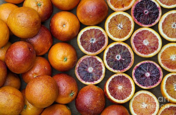 Vegetable Garden Photograph - Citrus Blood Oranges by Tim Gainey