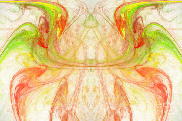 Digital Art - Citrus Delight Abstract 2 by Andee Design