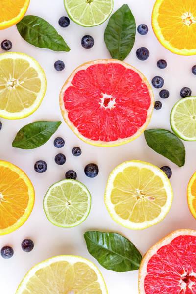 Photograph - Citrus Fruits by Teri Virbickis