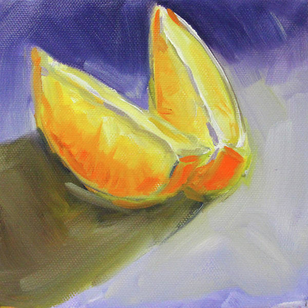 Wall Art - Painting - Citrus Sections by Nancy Merkle